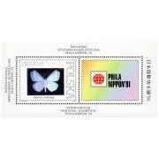 Vlinderhologram Postzegel Polen