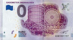 Uitbreiding van de collectie  bankbiljetten als souvenir