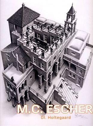 De kunstwerken van Escher in een Deens kunstmuseum