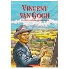Leven en werk van schilder Van Gogh in een stripboek