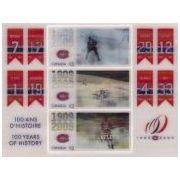 Montreal Canadiens op 3D postzegelblok