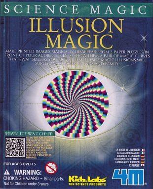 Wetenschappelijke magie en illusionistische toverkunsten