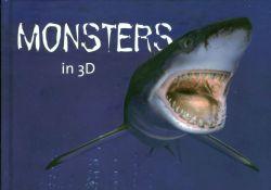 Monsters in 3D postzegelboekje