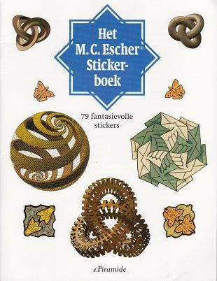 Betoverende stickers in het M.C. Escher stickerboek