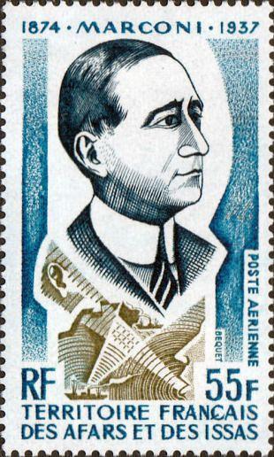 Filatelistische aandacht voor: Guglielmo Marconi (1)