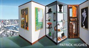 Geometrische beweging in werken van Patrick Hughes