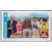 Zwitsers jubileum op 3D postzegels