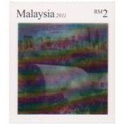 Tunnelboringen in 3D op postzegels Maleisië  afbeelding 2