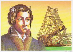Filatelistische aandacht voor: William Herschel (3)