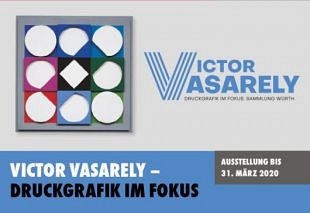 Litho's van Victor Vasarely in Art Room Würth Austria
