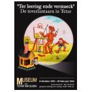 Toverlantaarnvoorstelling in Museum Paul Tetar van Elven