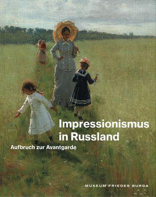 Franse kunststijl aan basis  impressionisme in Rusland (3)