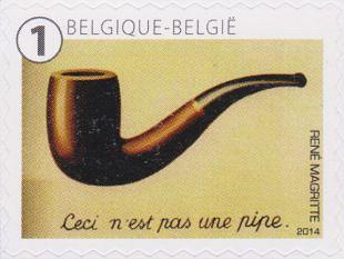 Filatelistische aandacht voor: René Magritte  (5)