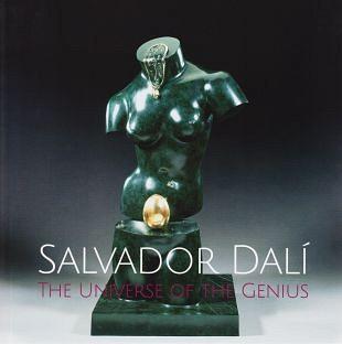 Kunst van Salvador Dalí in een verkooptentoonstelling