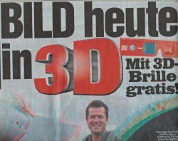 Bildzeitung volledig in 3D