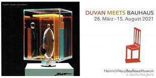 Presentatie kunstpublicatie expo Duván meets Bauhaus