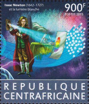 Filatelistische aandacht voor: Sir Isaac Newton (1)