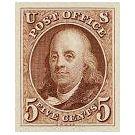 Wetenschapper Franklin op de Amerikaanse postzegels - 2