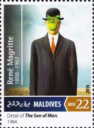 Filatelistische aandacht voor: René Magritte  (1)