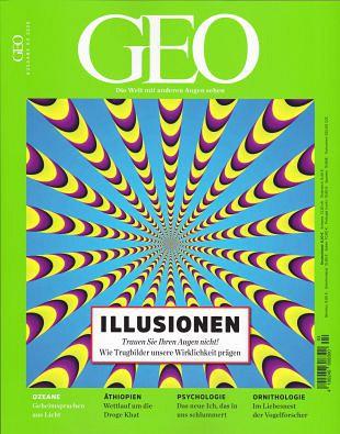 Optische en visuele illusies voor aantrekkelijke bladen