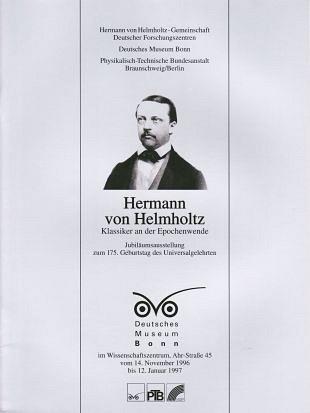 Wetenschappelijk werk van Hermann von Helmholtz