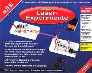 Laserexperimenten met het educatieve montagepakket