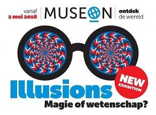 Spelen met illusies, magie en de werkelijkheid in Museon