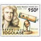 Filatelistische aandacht voor: Sir Isaac Newton (3)