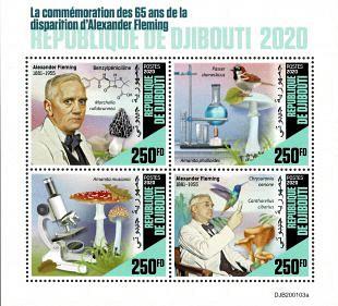 Filatelistische aandacht voor: Alexander Fleming (1)