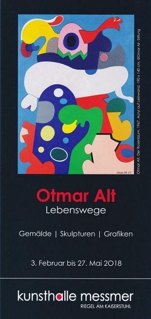 Schilderijen en objecten uit het oeuvre van Otmar Alt