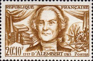 Jean-Baptiste Le Rond d'Alembert (1717-1783)