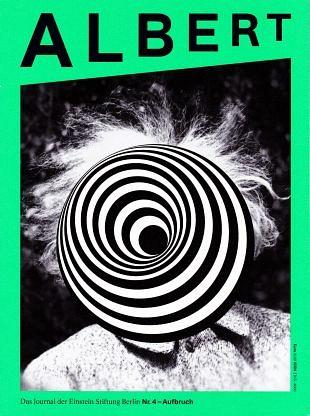 Einstein Stichting Berlijn geeft jaarlijks tijdschrift Albert uit