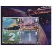 Thunderbirds op Engelse 3D postzegels  afbeelding 5