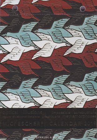 Scheurkalender 2019 toont 365 dagen Escher-plaatjes