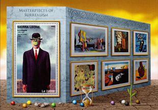 Filatelistische aandacht voor: René Magritte  (2)