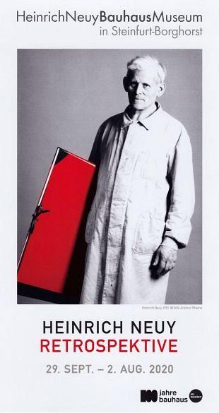 Retrospectief toont invloed Bauhaus op kunst van Neuy