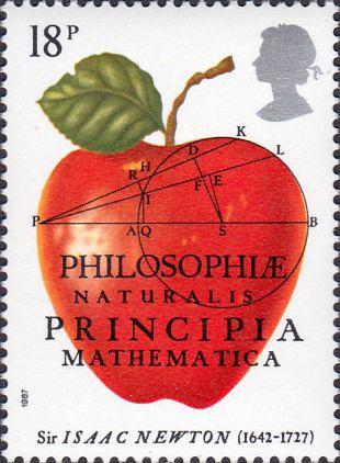 Filatelistische aandacht voor: Sir Isaac Newton (4)
