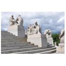 Kunst van Gustav Vigeland te zien in groot beeldenpark - 3