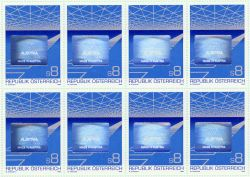 Hologrampostzegel Oostenrijk 1988