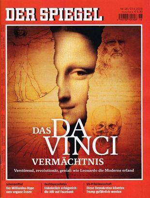 Leonardo tekende resultaat van anatomisch onderzoek