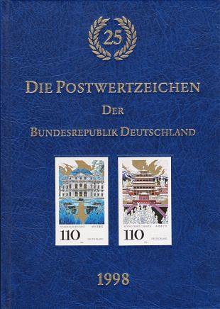 Holografische postzegels in Duitse postzegeljaarboeken