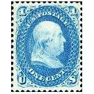 Wetenschapper Franklin op de Amerikaanse postzegels - 3