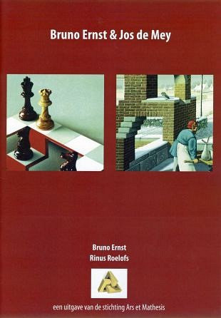 Mooie kunstbrochure over Bruno Ernst en Jos de Mey