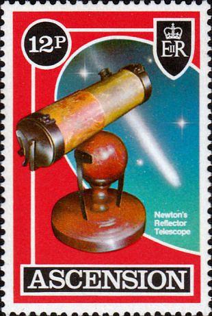 Filatelistische aandacht voor: Sir Isaac Newton (2)
