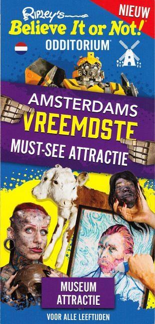 Amsterdam biedt bezoekers twee ontdektentoonstellingen