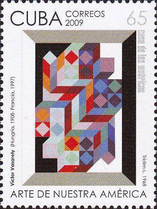 Kunst van Victor Vasarely vormde basis voor Op Art (2)
