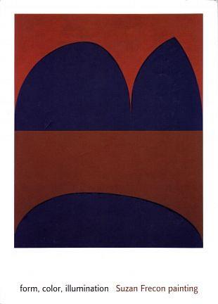 Vorm, kleur en illuminatie in werk van Suzan Frecon