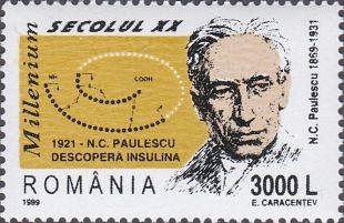 Nicolae Constantin Paulescu (1869-1931)