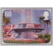 Thunderbirds op Engelse 3D postzegels  afbeelding 2