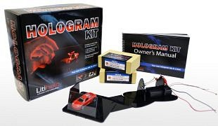 Hologrammen realiseren en projecteren met bouwdozen
